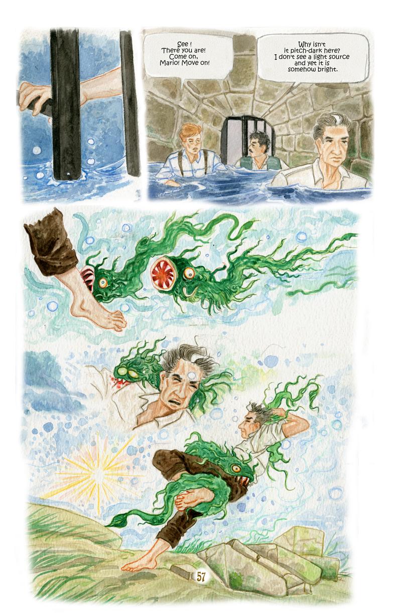Attack under water