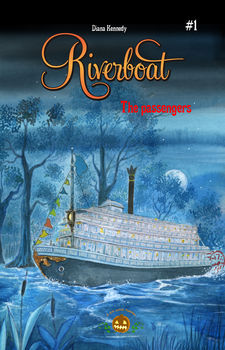 RIVERBOAT Nr. 1 The passengers